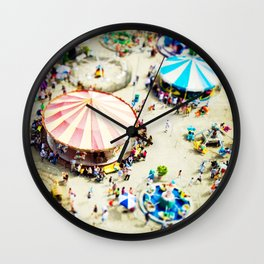 Carnivale Wall Clock