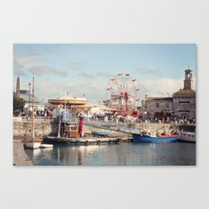 Ramsgate in August Canvas Print