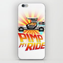 Pimp My DeLorean iPhone Skin