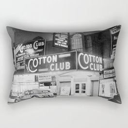 African American Harlem Renaissance Cotton Club Jazz Age Photograph Rectangular Pillow