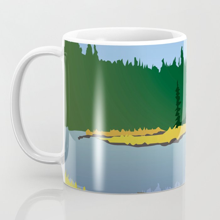 Junction Lake Coffee Mug