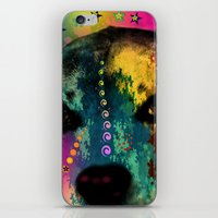 dogs iPhone & iPod Skins featuring  dogs by mark ashkenazi