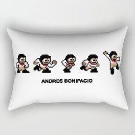 8-bit Andres 5 pose v1 Rectangular Pillow