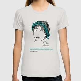 History's Women: Jane Austen T-shirt