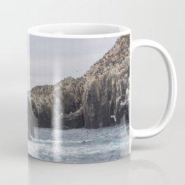 The Farne Islands Cliffs Coffee Mug