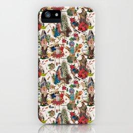 Una Navidad hecha Albañomaría iPhone Case
