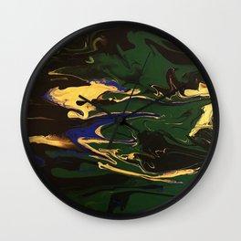 Vibrant Hook Wall Clock