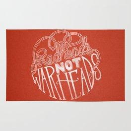 Redheads Not Warheads Rug