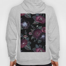Fantasy Night Rose Red Hoody