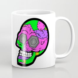 Psych Skull Coffee Mug
