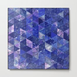 Abstract Geometric Background #19 Metal Print