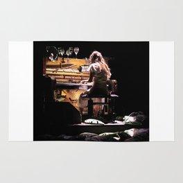 Live weird piano Rug