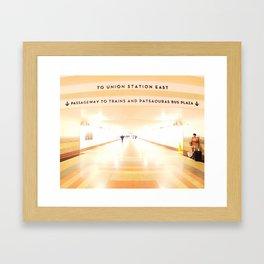 Buttered. Framed Art Print