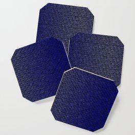 Binary Blue Coaster