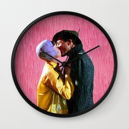 Singin' in the Rain - Pink Wall Clock