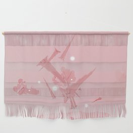 Voyage in Pink Wall Hanging
