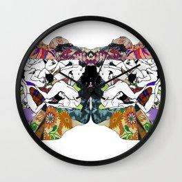 Psychological sex Wall Clock