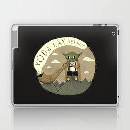 yodaling (grey colour option) Laptop & iPad Skin