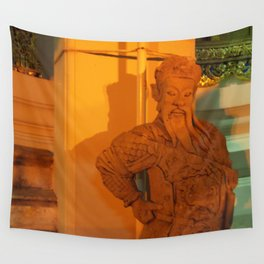 guard of light Statue Wall Tapestry