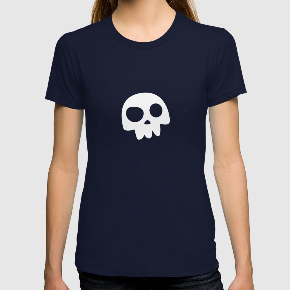 Star Wars The Mandalorian Simple Skull Symbol T-Shirt