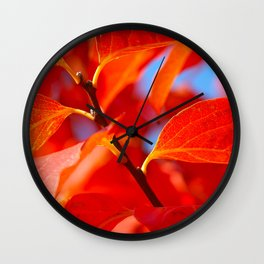 Autumn Colours Wall Clock