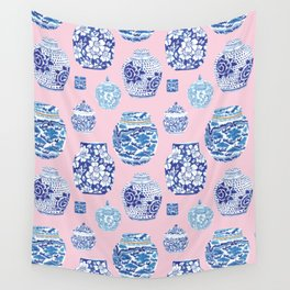 Chinoiserie Ginger Jar Collection No.7 Wall Tapestry