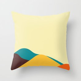 Abstract landscape design.  Throw Pillow