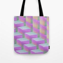 Fade Cubes II Tote Bag