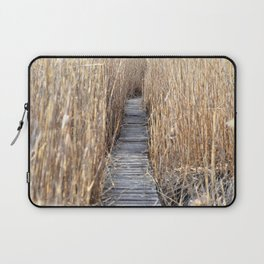 Through the reed Laptop Sleeve