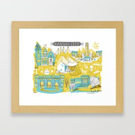 Kansas City  Framed Art Print