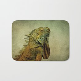Green Iguana Bath Mat