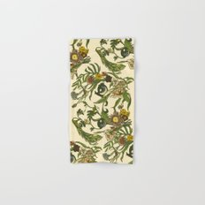 Botanical Pug Hand & Bath Towel