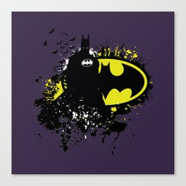 Splashing Bat Canvas Print