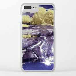 Falls Park on the Reedy in Greenville, South Carolina, A beautiful park space. Clear iPhone Case
