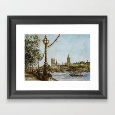 London view Framed Art Print