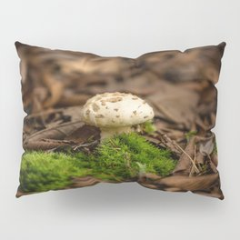 From Little Things - Perfect Mushroom in Fallen Leaves Pillow Sham