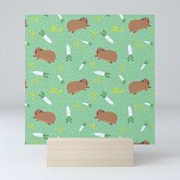 Guinea Pig & Daikon Mini Art Print