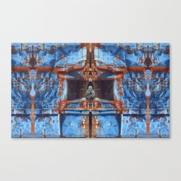 Blue Sanctuary Canvas Print