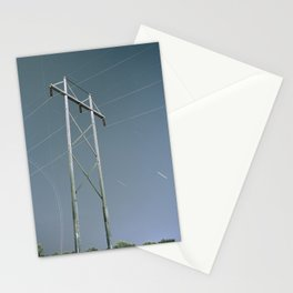 Electron Contrail Stationery Cards