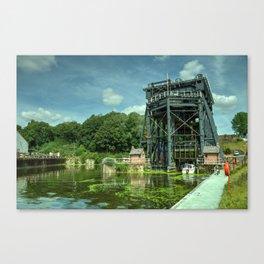 Anderton Boat Lift Canvas Print