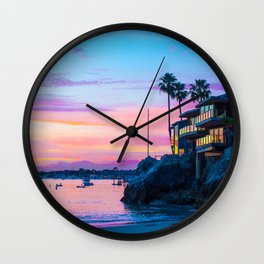 Cliff House On The Lower Bay Wall Clock