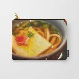 Udon noodle soup served in Kyoto, Japan Carry-All Pouch