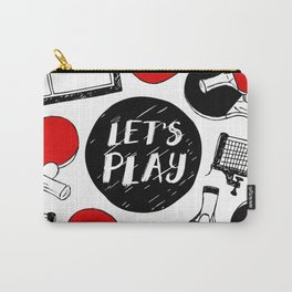 Let's play table tennis Carry-All Pouch