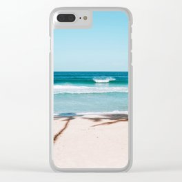 north shore Clear iPhone Case