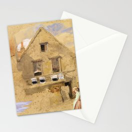 Little House on the Prairie – Country Girls  Stationery Cards