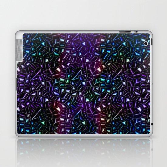 Midnight Rainbow Glitter Laptop & iPad Skin