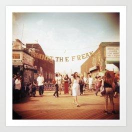 Coney Island #1 Art Print