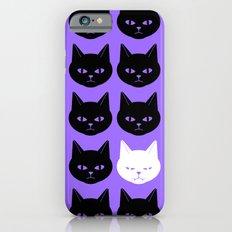 Cats Purple Slim Case iPhone 6s