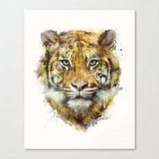 Tiger // Strength Canvas Print