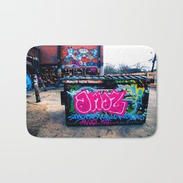 Amazed Grafitti Bath Mat